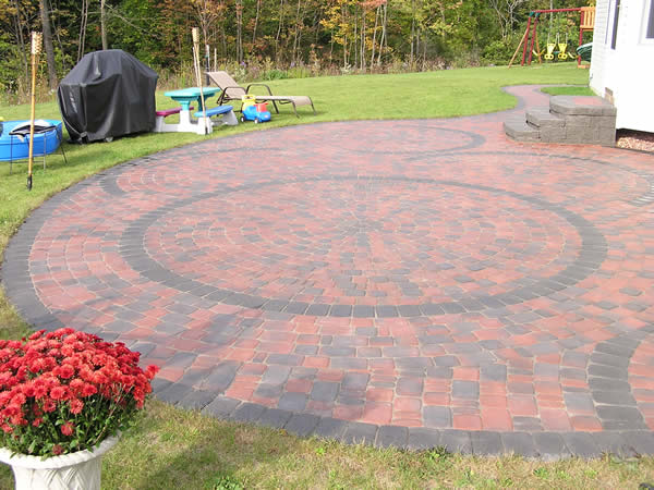 Interlock Brick Stone Pavers Surface Masters